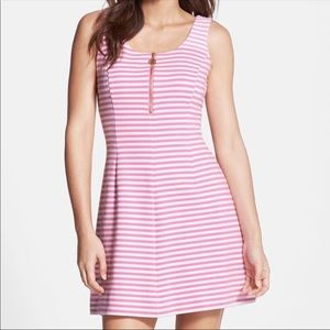 Lilly Pulitzer Nicolette Stripe Ottoman Dress